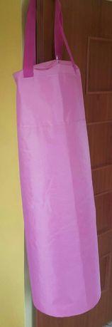 Nowy Worek bokserski treningowy różowy pusty 110x35