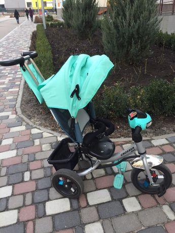 Велосипед Crosser Т-1 надувные колеса, бирюзовый