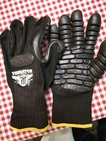 Rękawice antywibracyjne.