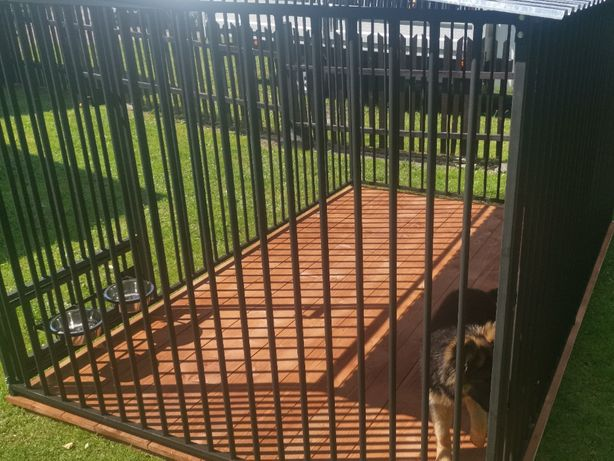 Kojce Klatki Boksy Kojec dla psa 3,5x3,5m