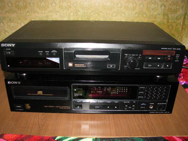 Минидисковый проигрыватель Sony MDS-JE330, CDP-790
