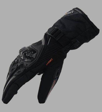 Cieple wodoodporne sportowe rękawice XXL