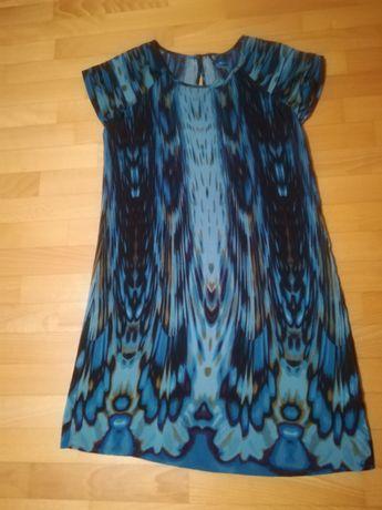 sukienka next w odcieniach blue