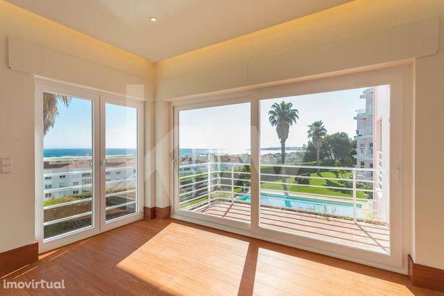 Apartamento T4 para arrendamento com vista mar, jardim e piscina, no a