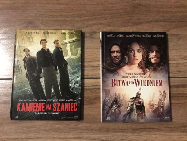 """Film DVD """"Kamienie na szaniec"""" i """"Bitwa pod Wiedniem"""""""