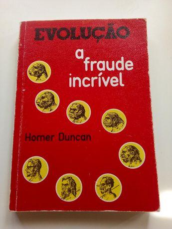 """Livro """" Evolução,a fraude incrível""""- 1979"""