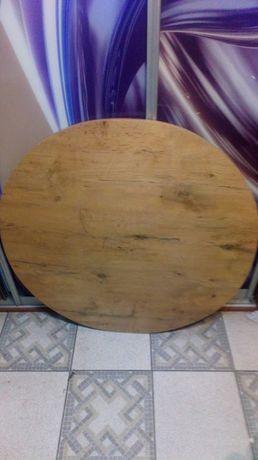 BLAT okrągły fi 50 , 60 , 70 , 80 , 90, 100 cm dąb lancelot blaty