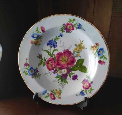Prato antigo em porcelana Disfer