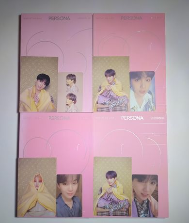 альбом BTS Persona ver. 1, 2, 3, 4