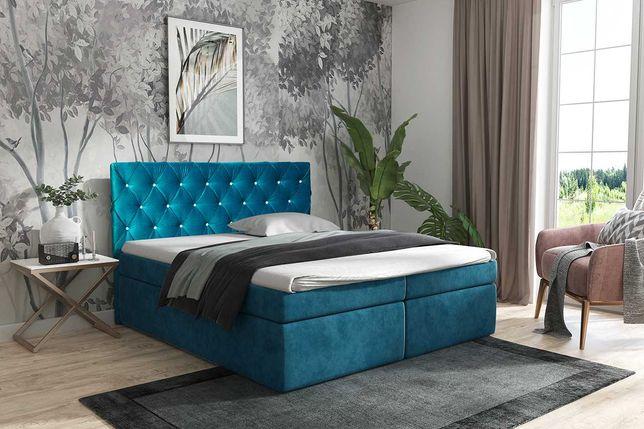 Łóżko Tapicerowane Kontynentalne Napoli 140, 160, 180, 200cm Producent