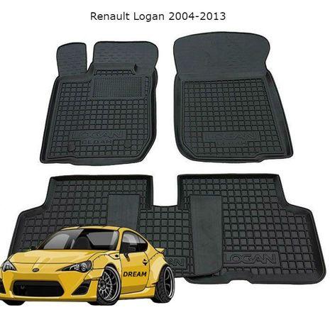 Коврики резиновые Renault Logan 2004-2013