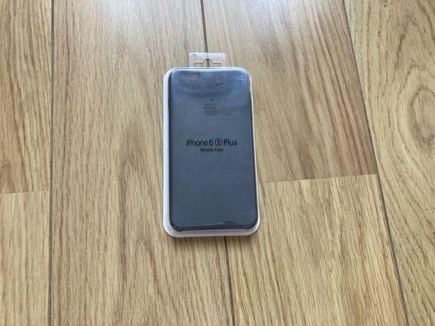 Apple Silicone Case для iPhone 6 Plus / 6S Plus чехол цвет темно серый