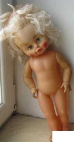 СССР Кукла Блондинка Ню 42 см