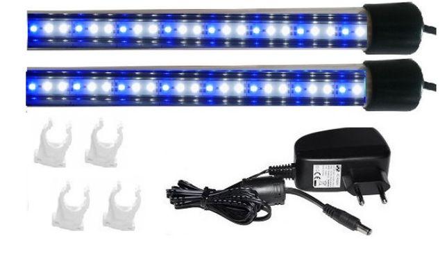 Oświetlenie akwarium led 2X40 CM ZESTAW MALAWI