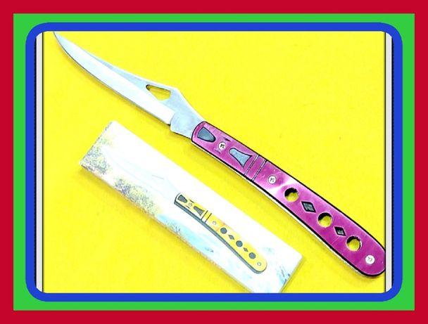 Uniwersalny Boczny Składany Nóż z Cienkim Ostrzem (Dł.20,5cm)