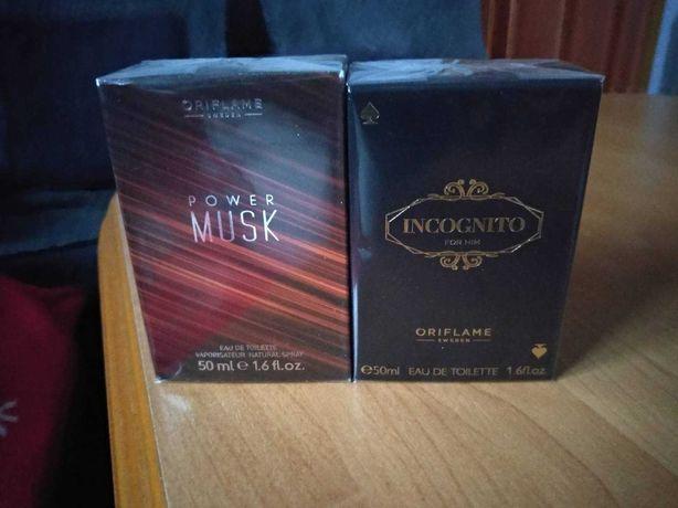 Perfum męski Power Musk oraz Incognito - Oriflame