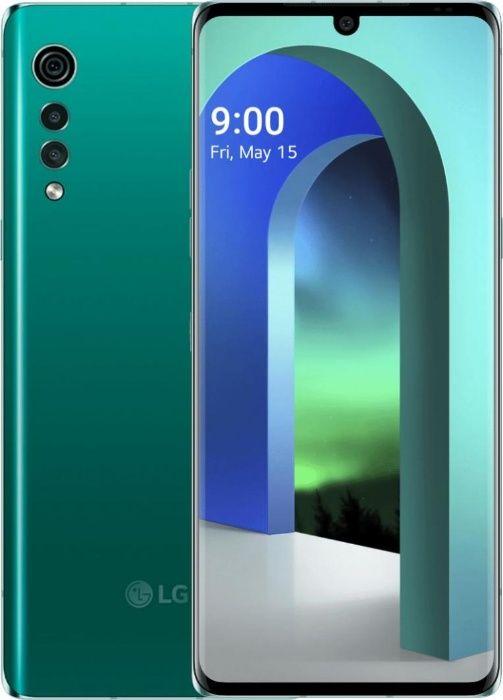 Mega Okazja! LG VELVET DUAL SCREEN 6GB/128GB Zielony + Pokrowiec (R)