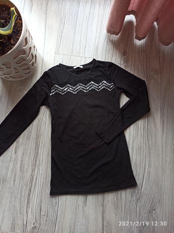 Czarna bluzka rozmiar S