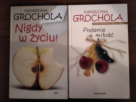 """K. Grochola """"Nigdy w życiu"""", """" Podanie o miłość"""""""