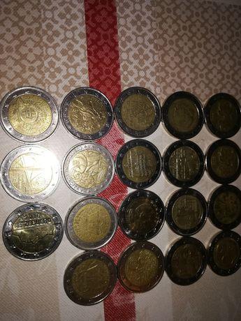 Vendo moedas de 2 € raras e comemorativas