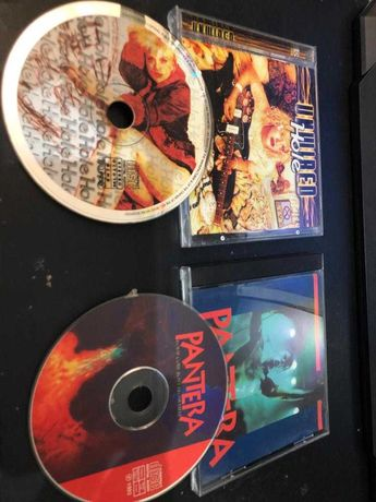 """2 CD's Bootleg Pantera """"Four Cow-Boys From Hell"""" e Hole """"Unwired"""""""