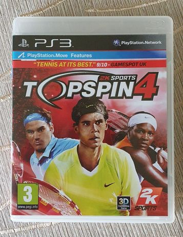 Jogo Ps3 Topspin 4