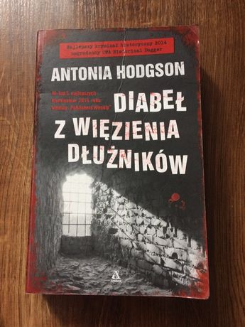 Książka Diabeł z więzienia dłużników.