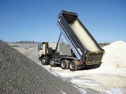 transport kruszywa kliniec piasek żwir tłuczeń kruszonka bet ziemia