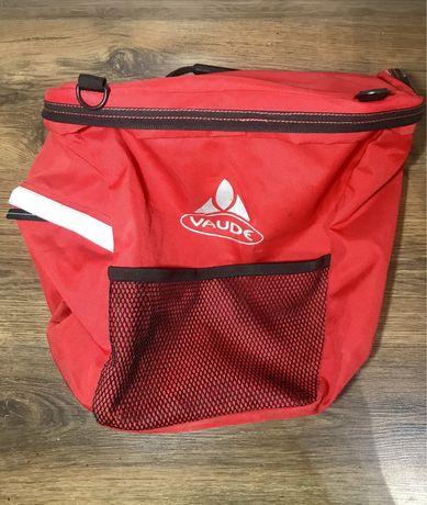 Sakwa torba na rower bagażnik Vaude
