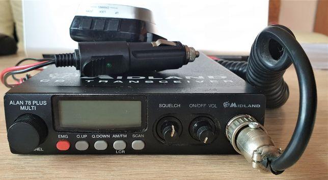 CB radio Midland 78 plus multi + antena magnetyczna