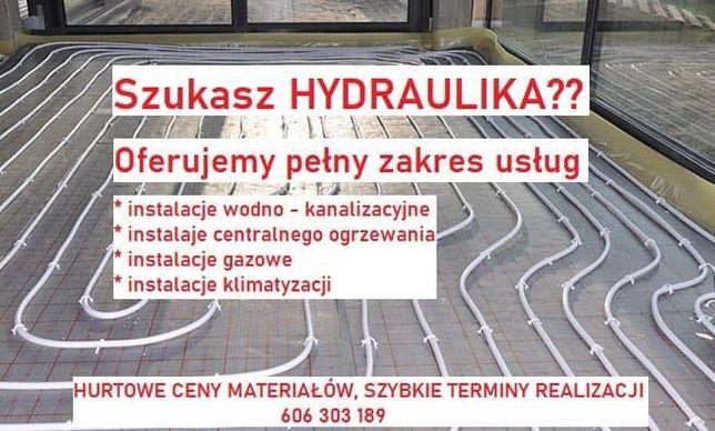 Usługi Hydrauliczne, hydraulik, instalacje, wod-kan, gaz, klimatyzacja
