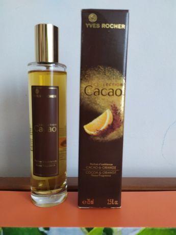 perfumy Cacao Collection Yves Rocher spray do pomieszczeń 75 ml unikat