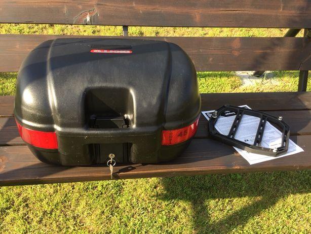 Kufer 45l System mocowania kufra do płyty jak monokey