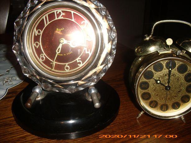 Zegar Majak -Made in USSR oraz Budzik Prim - Czechosłowacja