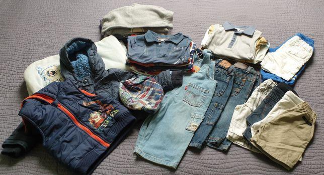 Ubranka, paka dla chłopca r.80-86