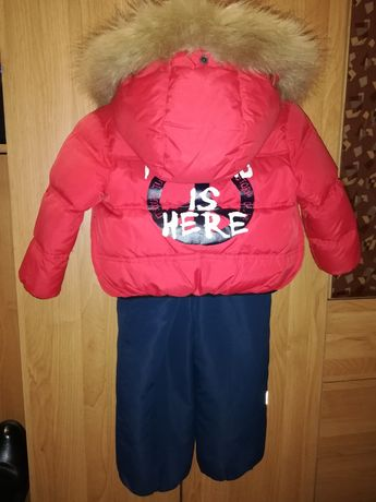 Зимний комбинезон на пуху Moschino, зимний костюм, куртка, полукомбез