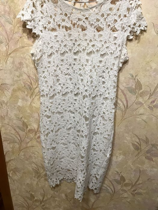 Белое обтягивающие платье Роздільна - зображення 1