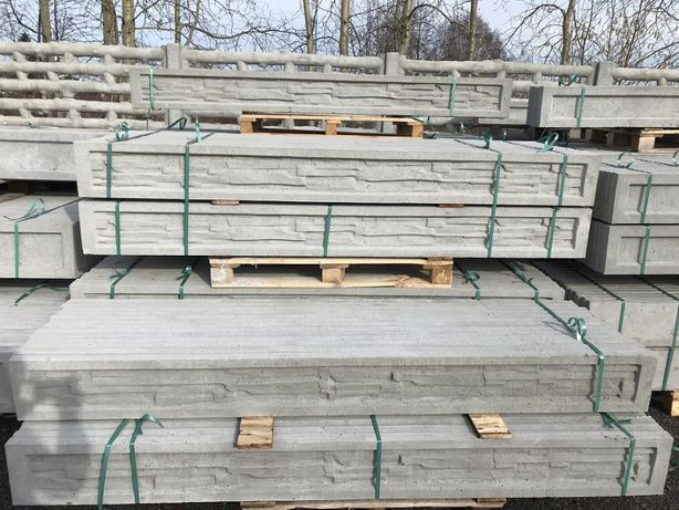 Podmurówki betonowe. Ogrodzenie panelowe, prefabrykat