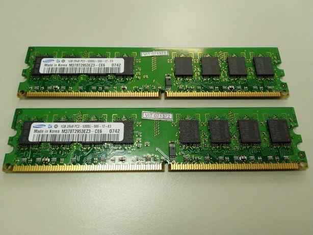 Samsung DDR2-667 1GB 2шт