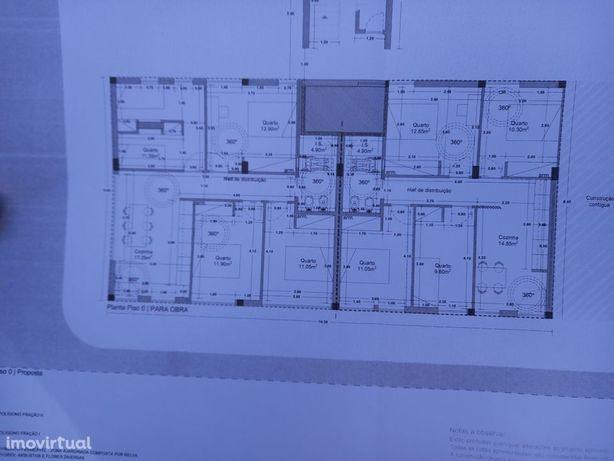 Projeto aprovado para 2 apartamentos em loja