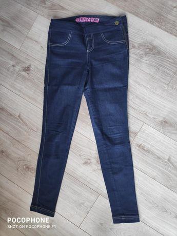Spodnie legginsy dżinsy jeansy jegginsy XS Generation jak nowe