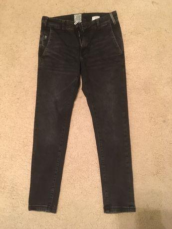 czarne jeansy męskie cropp w 28 l 30 slim