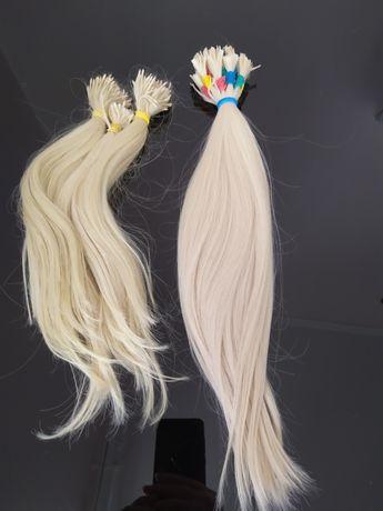 Натуральне платинове волосся