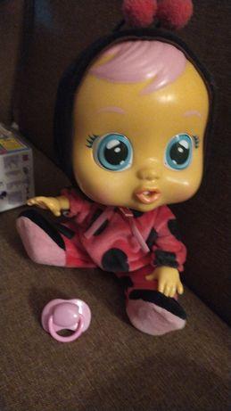 Baby cry lady bug
