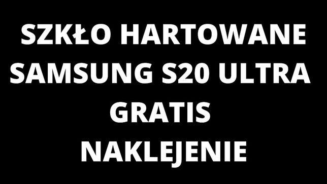 Szkło Hartowane UV Samsung S20 Ultra gratis naklejenie
