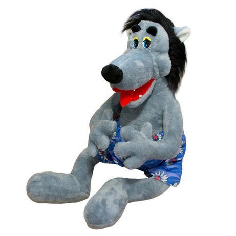 Мягкая игрушка Kronos Toys 84см Волк