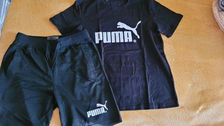 Męskie komplety koszulka plus spodenki rozmiary