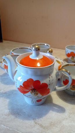 СЕРВИЗ чайный фарфоровый