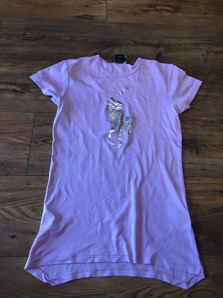 Ralph Lauren fioletowa koszulka bluzka