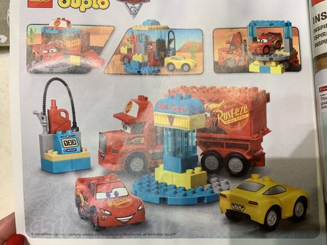 Лего Дупло Кафе Фло Тачки LEGO Duplo Cars Flo's Cafe 10846